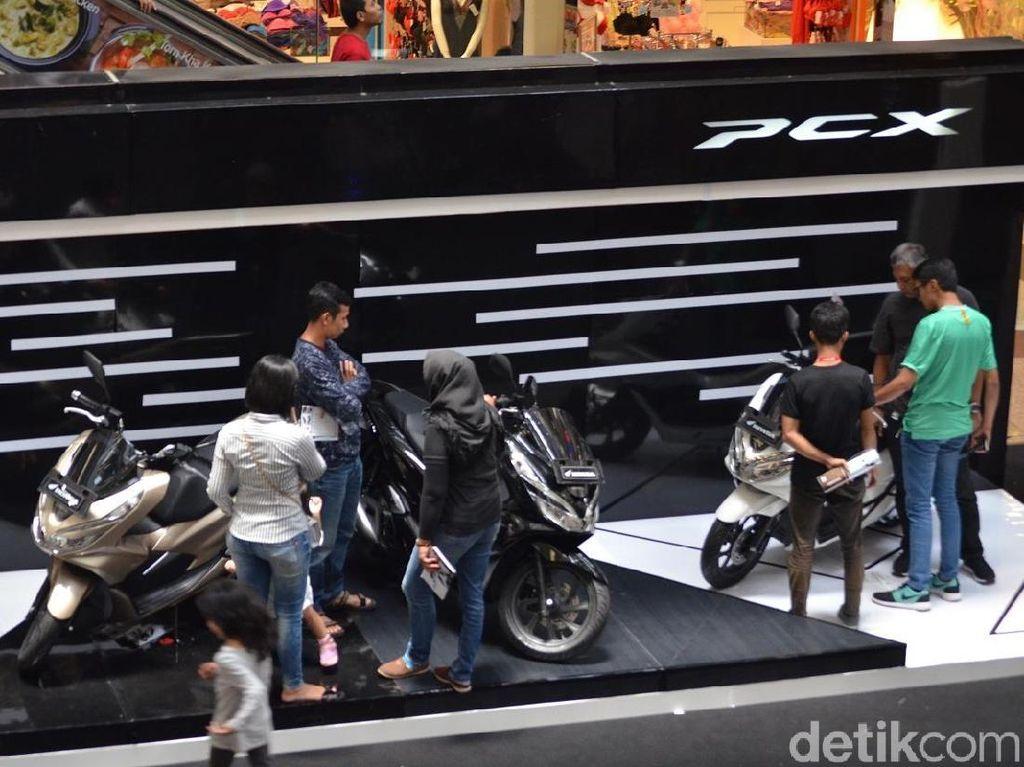 Dengan harga on the road Jakarta Tangerang Rp. 27.700.000 tipe CBS dan Rp. 30.700.000 untuk tipe ABS, Wahana optimistis skutik ini akan menguasai pasar skutik premium di Jakarta. Foto: Wahana Makmur Sejati