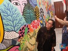 Menkeu Kunjungi Pameran Voyage to Indonesia Art Exhibition