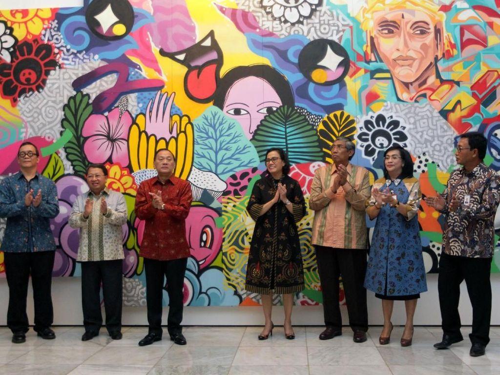 Voyage to Indonesia Art Exhibition digelar 12 - 14 Maret 2018 sebagai persiapan menuju International Monetary Fund (IMF) - World Bank Group (WBG) Annual Meeting 2018 yang akan digelar di Bali pada Oktober 2018 mendatang.