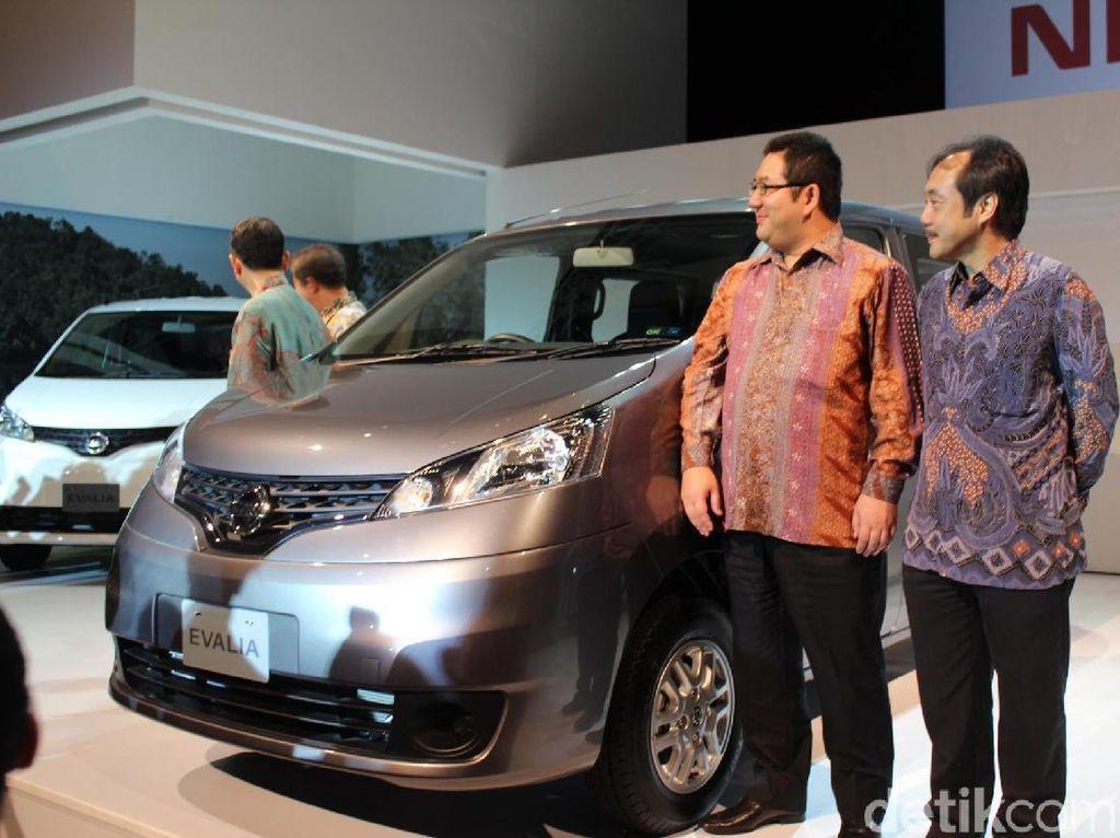 Nissan Evalia pertama kali diluncurkan di Indonesia pada 7 Juni 2012. Mobil saat itu dijual seharga mulai Rp 145 juta sampai Rp 185 juta. Foto: dok detikOto