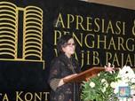 Sri Mulyani Beri Penghargaan ke Perusahaan Taat Pajak