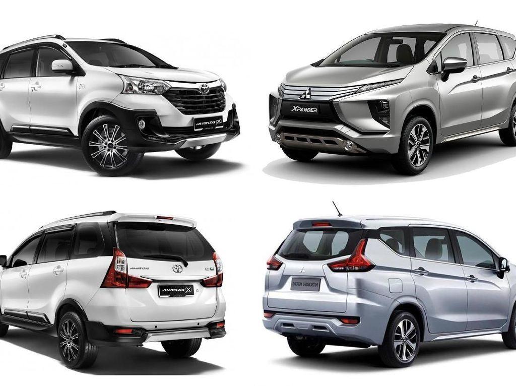 Berdasarkan data distribusi wholesales (dari pabrik ke diler) milik Gabungan Industri Kendaraan Bermotor Indonesia (Gaikindo) bulan Februari 2018, Xpander tercatat terjual sebanyak 7.400 unit. Istimewa.