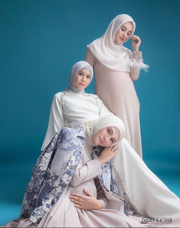 Kompaknya Trio Bumils saat Pregnancy Photo