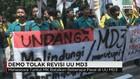 Aksi Mahasiswa Seluruh Indonesia Tolak Revisi UU MD3