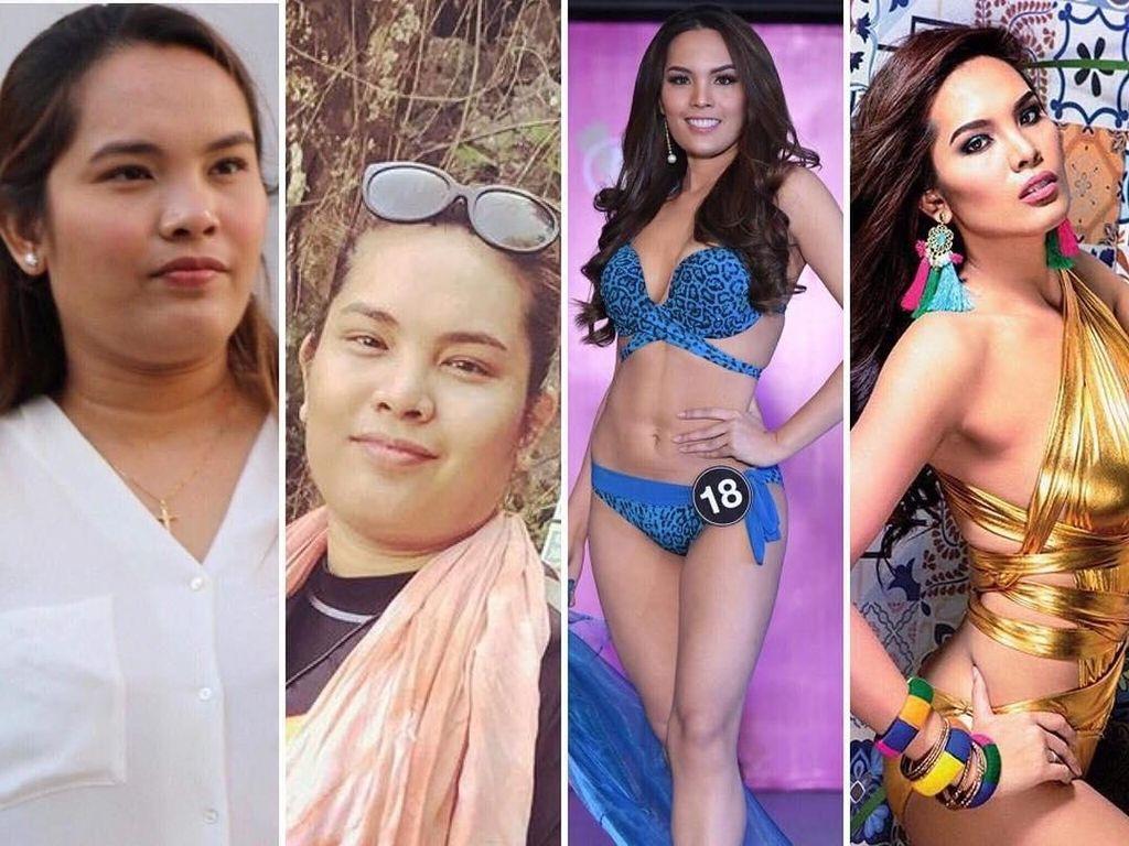 Transformasi Mengagumkan Finalis Kontes Kecantikan yang Dulu Berbobot 90 Kg