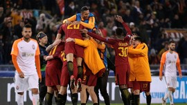 6 Catatan Menarik AS Roma ke Perempat Final Liga Champions