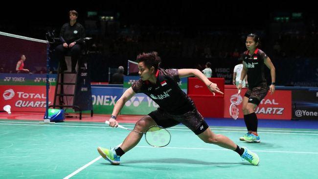 Piala Sudirman 2019: Dikalahkan Denmark, Indonesia Juara Grup