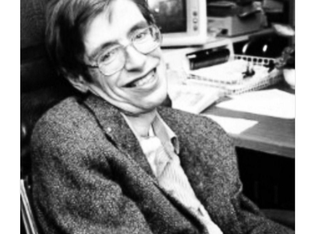 Stephen Hawking, terimakasih untuk kontribusmu pada manusia,(Foto: Twitter)