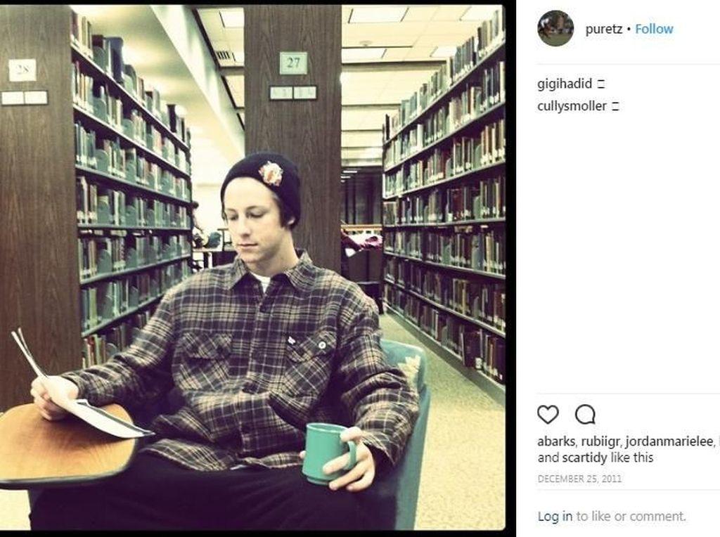 Patrick Uretz pernah menjadi kekasih Gigi Hadid pada tahun 2011 lalu.(Dok. Instagram/puretz)