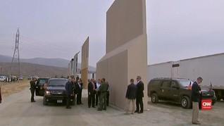 VIDEO: Trump Tinjau Prototipe Tembok Pembatas Meksiko