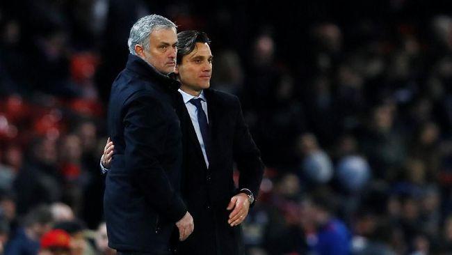 Mourinho Puji Strategi Montella Usai Sevilla Tekuk Man United