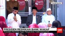 Warga Minta Tambahan Modal usaha ke Jokowi