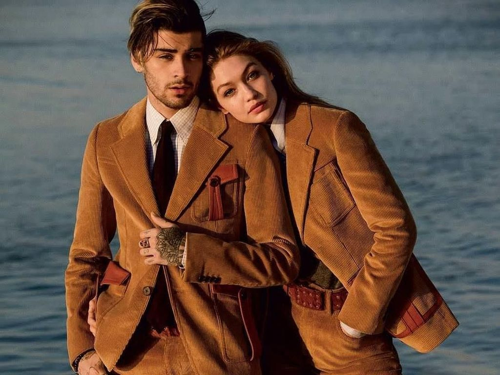 Zayn Malik dan Gigi Hadid Putus, Lihat Lagi Gaya Stylish Kencan Mereka
