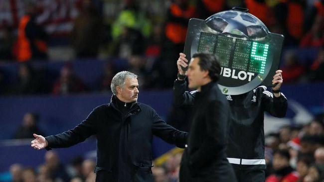 Mourinho Akui Salah Usai Man United Kalah