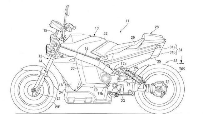 Honda Punya Paten Sepeda Motor Hidrogen