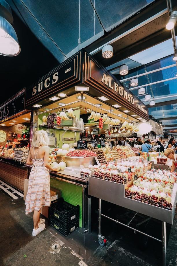 Serunya Blusukan ke La Boqueria, Pasar Tradisional Terbaik di Dunia