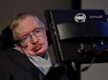 Ilmuwan Inggris Stephen Hawking Meninggal Dunia
