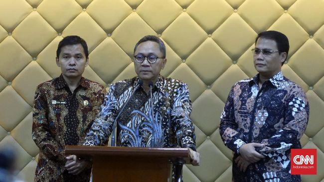 MPR Sodorkan Usulan Amandemen Terbatas UUD 1945 ke Jokowi