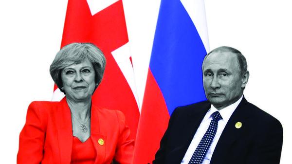 Inggris - Rusia Tegang
