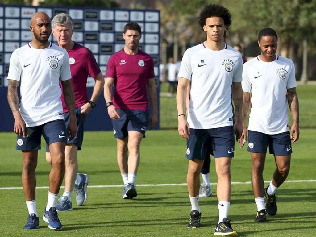 Usai menang atas Stoke City pada Senin (12/3), City baru akan bertanding melawan Everton pada 31 Maret. Untuk mengisi jeda, City menggelar training camp di Abu Dhabi. Foto: www.mancity.com