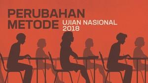 INFOGRAFIS: Perubahan Metode Ujian Nasional SMA-SMK 2018