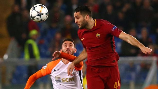 AS Roma vs Shakhtar Donetsk Tanpa Gol di Babak Pertama