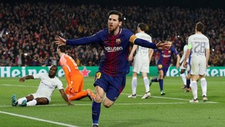 Barca Tekuk Chelsea, Gol Cepat Messi Buyarkan Rencana Conte