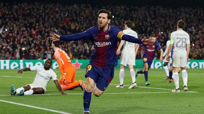 CEO Roma Sebut Lionel Messi Sebagai Makhluk Luar Angkasa