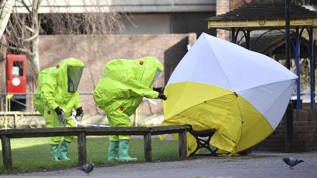 Inggris Identifikasi Tersangka Serangan Racun Agen Rusia