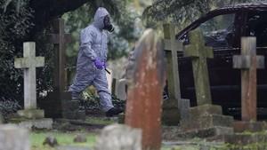 FOTO: Melacak Jejak Racun pada Agen Ganda Rusia di Inggris