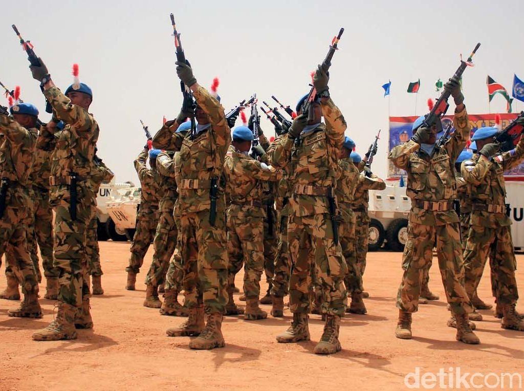 779 Prajurit TNI di Sudan Terima Medali PBB