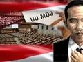 UU MD3 Resmi Berlaku Tanpa Tanda Tangan Presiden Joko Widodo