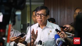 Pembahasan Alot, Alasan Yasonna Tak Lapor UU MD3 ke Jokowi