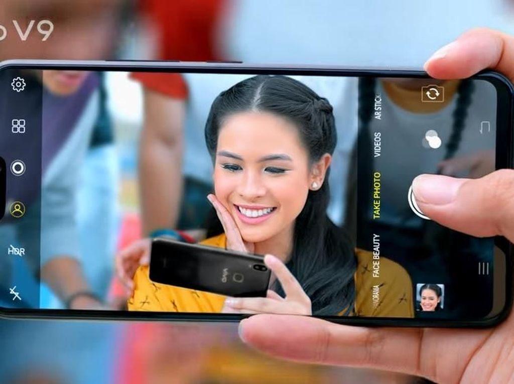 Melihat Lebih Dekat Vivo V9 yang Mirip iPhone X