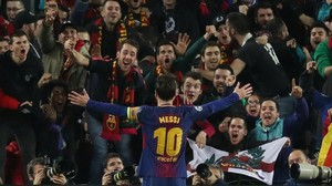 FOTO: Langkah Barcelona ke Perempat Final Liga Champions