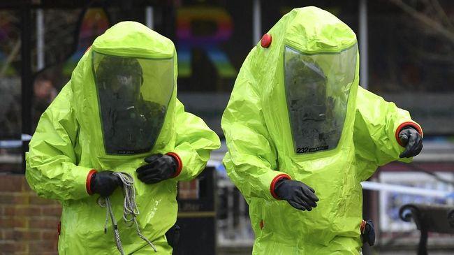 Dua Orang Kritis dekat Lokasi Serangan Racun Saraf di Inggris