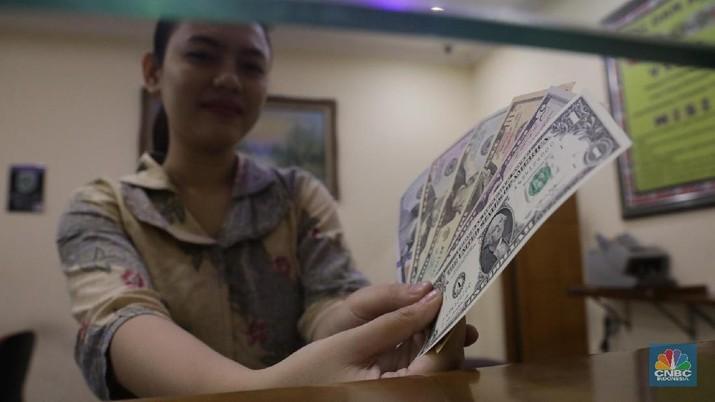 Penutupan Pasar: Rupiah Menguat ke Rp 14.055/US$