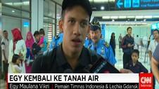 Egy Maulana Kembali ke Tanah Air
