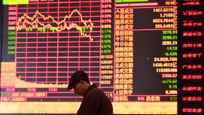 Bursa Saham Jepang Ditutup Anjlok 4,51%