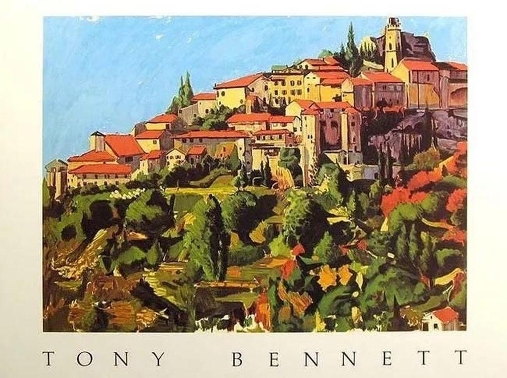 Tony Bennett sudah lama ingin menjadi seorang pelukis. Ia kerap membuat karya pemandangan dan lainnya.(Dok. Ist)