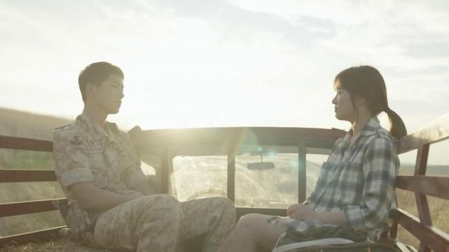 'Descendants of the Sun', Cinta Awal Song Hye Kyo-Joong Ki