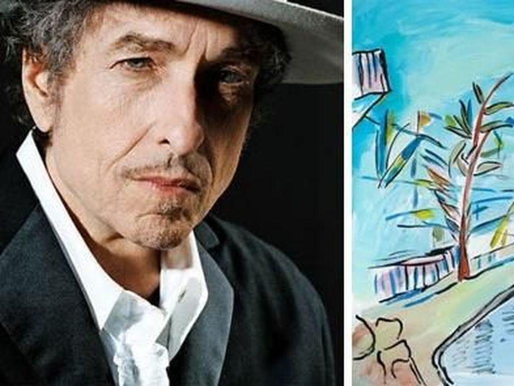 Selain sajak yang keren, Bob Dylan juga punya gaya sendiri dalam melukis. (Dok. Ist)