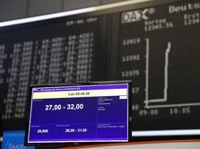 Bursa Saham Eropa Dibuka Terkoreksi