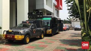 Diancam Diduduki FPI, Kantor Tempo Dijaga Polisi