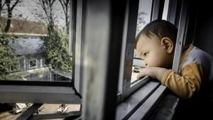 FOTO: Mimpi Imigran Anak di Balik Jendela Rumah Pengungsi