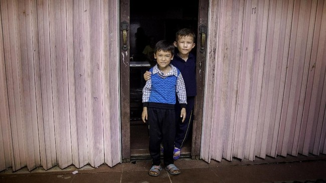 Meski sudah bertahun-tahun di Pekanbaru, namun mereka belum kunjung mendapatkan persetujuan status suaka dari Indonesia. (ANTARA FOTO/FB Anggoro).