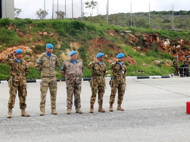Prajurit TNI Terima German Markmanship Schuetzenschnur di Lebanon Selatan