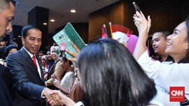 Antusiasme WNI Sambut Kedatangan Jokowi di Australia
