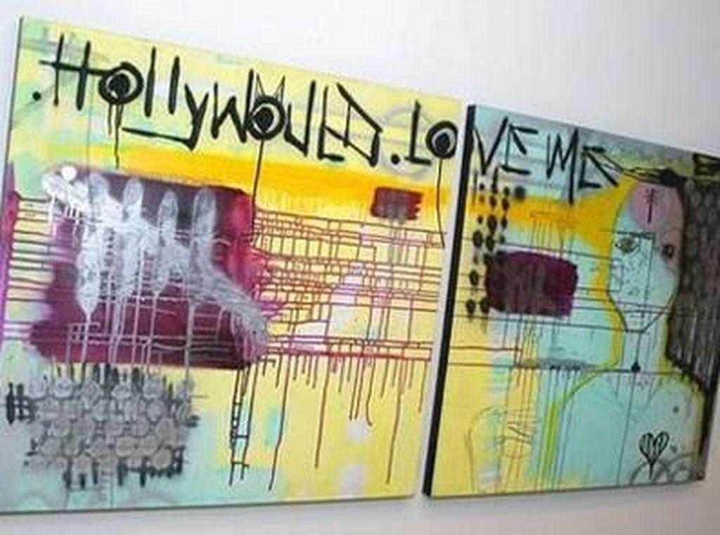 James Franco mulai melukis sejak duduk di Sekolah Menengah Atas. Karyanya bahkan pernah nongol di film This Is The End.(Dok. Ist)