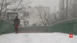 VIDEO: Gelombang Dingin Kembali Selimuti Polandia